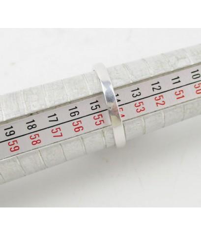 แหวน ทับทิม พม่า หลังเบี้ย ล้อมเพชร 19/0.95 ct ฝังเพชร 2/0.02 ct งานทองขาวโบราณ(ปาหะ) นน. 7.57 g