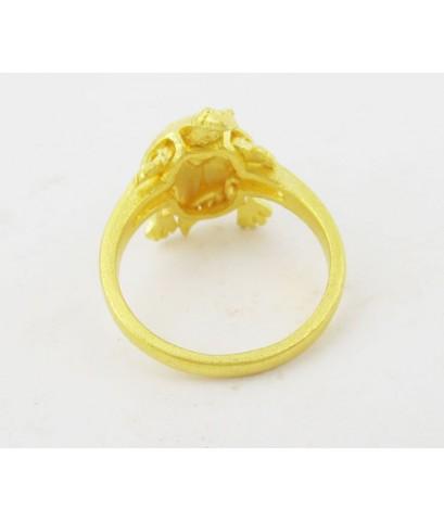 แหวน เต่า ดุ๊กดิ๊ก ทอง96.5 งานสวย น่ารักมาก นน. 5.92 g