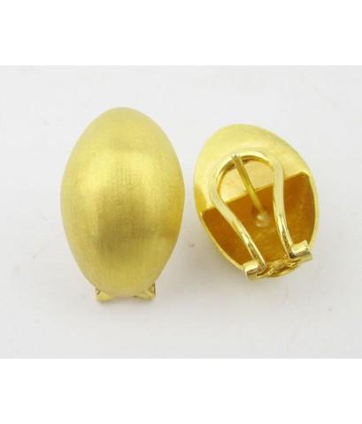 ต่างหู ห่วงทอง ทรงไข่ ทอง96.5 งานเก่า หลุดจำนำ สวยมาก นน. 16.20 g