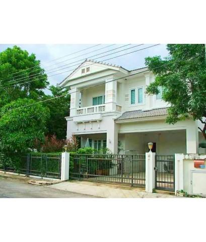 (บ้านเช่าไปแล้ว) บ้านเช่าอ่อนนุช / บ้านสวยให้เช่า โครงการหรูเพอร์เฟคเพลส สุวรรณภูมิ ทำเลดีหลังหัวมุม