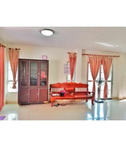 (บ้านเช่าไปแล้ว) บ้านเช่ารามอินทรา/ บ้านเช่าราคาถูกสุดๆ 4 ห้องนอน เฟอร์ครบ ใกล้ห้างMaxvalu