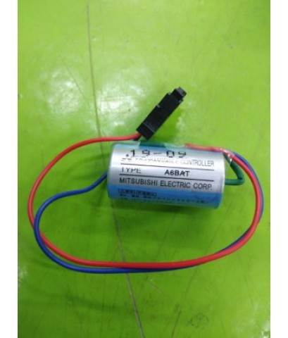 BATTERY MITSUBISHI A6BAT 3.6V ราคา 340 บาท