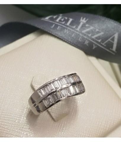 แหวนเพชรแท้เบลเยี่ยมคัท RI00533-277 (HEFTZX)