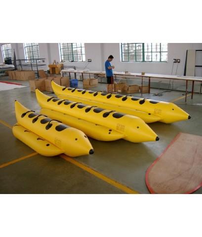 เรือกล้วย บานาน่าโบ๊ท ขนาด 8 ที่นั่ง ถึง 12 ที่นั่ง
