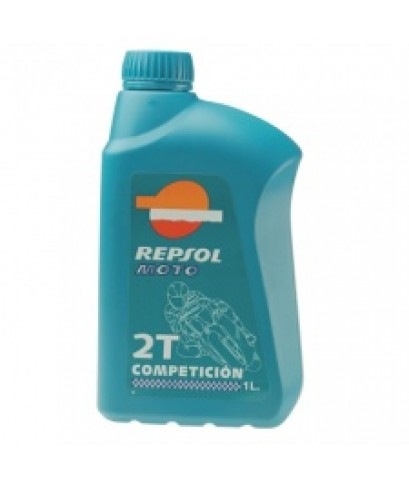 น้ำมันRepsol Moto Competicion 2T ออโต้ลูปมอเตอร์ไซค์ 2 จังหวะเรปโซล โมโต คอมเพททิชั่น 2ที