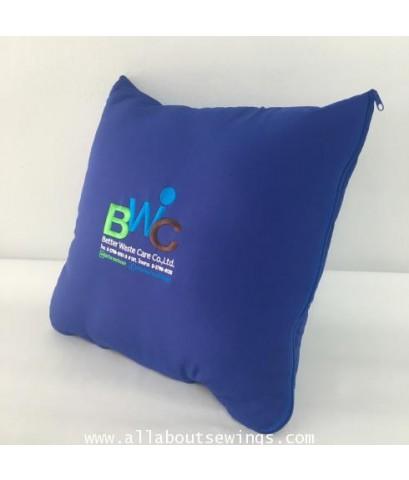 หมอนผ้าห่ม ผ้าไหมสเปน - ใน โพลี (BWC)