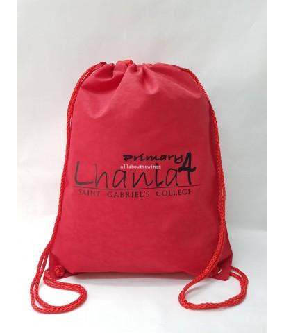 กระเป๋า ถุงหูรูดผ้าร่ม 1417 งาน Lhanla