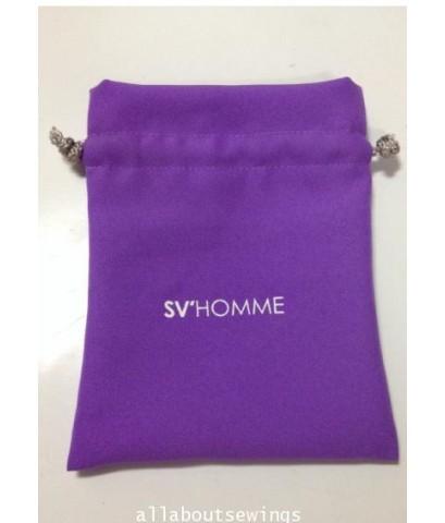 ถุงหูรูด ผ้าโซล่อน logo SV Home