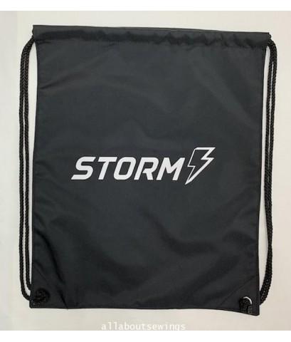 กระเป๋า เป้สะพายหลังหูรูดผ้าร่ม งาน STorm