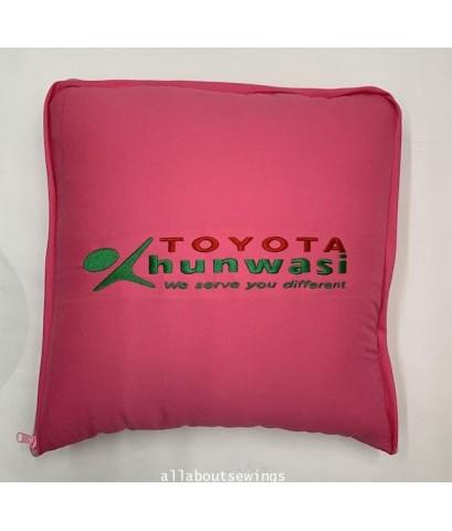 หมอนผ้าห่ม ผ้าไหมสเปน - ใน โพลี TOYOTA