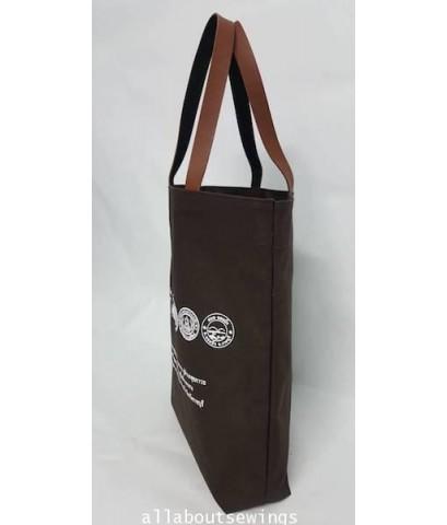กระเป๋าผ้าเเคนวาส สายหนังเทียม