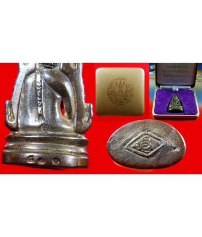 พระพุทธชินราช รุ่น 5 รอบอินโดจีน (ชินราชจอมไทย) เนื้อนวะโลหะ ปี 44