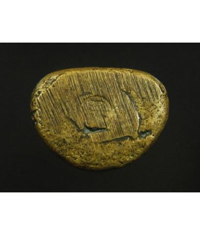 หลวงพ่อเงิน บางคลาน พืมพ์นิยม องค์ใหญ่ ใต้ฐานตอกโค๊ตเลข เนื้อทองผสมออกทองดอกบวบ