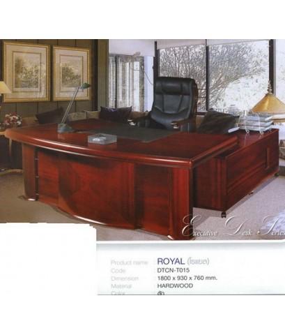 โต๊ะทำงานผู้บริหาร Royal (Di) 1.80 เมตร