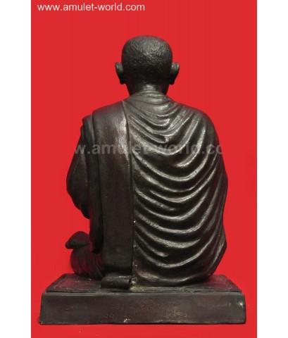 สมเด็จพระพุทธจารย์(โต พรหมรํสี) อนุสรณ์ 118 ปี วัดระฆังโฆสิตาราม หน้าตัก 5 นิ้ว โลหะรมดำ องค์ที่3