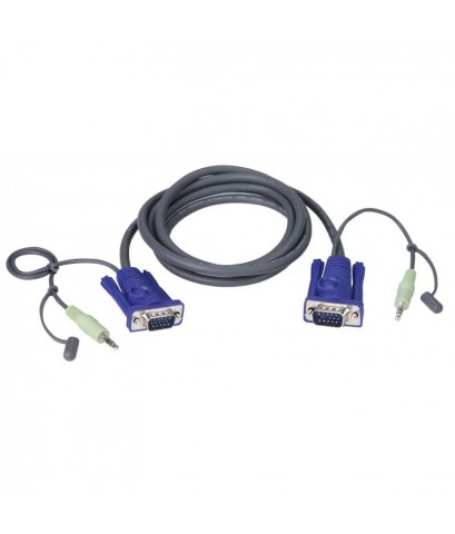 ATEN VGA CABLE WITH AUDIO 2 M รุ่น  2L-2502A