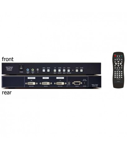 4K VIDEO WALL BOX 1 IN 2 OUT 180 ํ ROTATE/FLIP SUPPORT รุ่น  VW12R