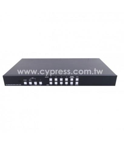 4×4 HDMI VIDEO WALL SEAMLESS MATRIX SWITCHER (วิดีโอวอลล์) รุ่น  CDPS-44SM