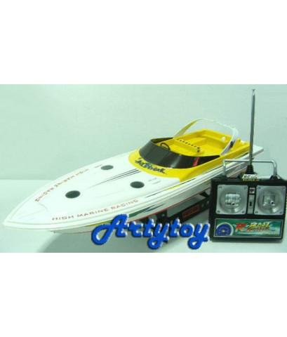 เรือบังคับวิทยุ RC Racing เป็นเรือ Speed Boat 2 มอเตอร์ ที่แรงเร็ว ไม่ต้องแต่งเพิ่ม