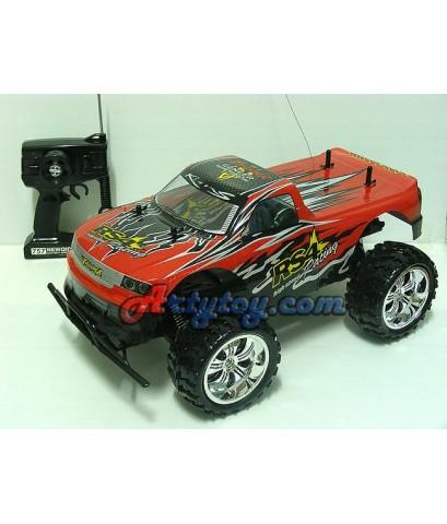 รถบิ๊กฟุตบังคับ Monster Truck (ZETN) บิ๊กฟุตขับเคลื่อน 2ล้อ  1:10 โครงอ่อนลุยดี เปลี่ยนบอดี้ได้