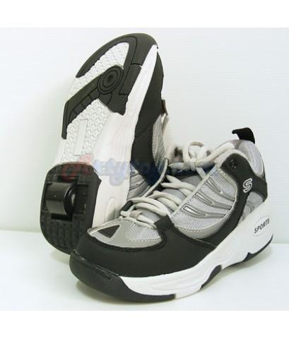 รองเท้าสเก็ตแบบล้อเดียว(ETN) สามารถพับเก็บล้อเป็นรองเท้าได้