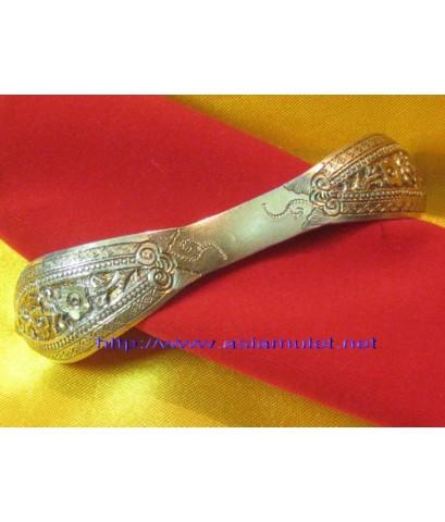 ปิ่นปักผมดอกเหมยชุบทอง ของสะสม, ของโบราณ ขนาดความยาว 3.5 นิ้ว