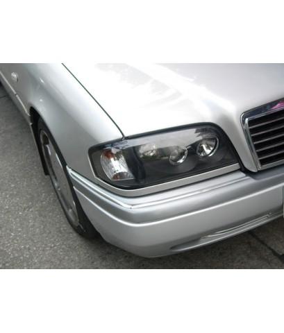 ไฟหน้า Projector โคมดำ Benz W202