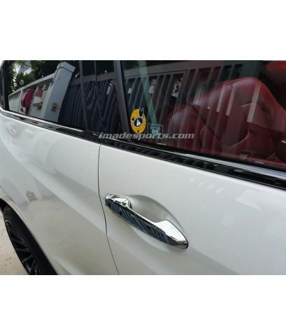 ชุดขอบหน้าต่าง Civic Black Chrome VIP