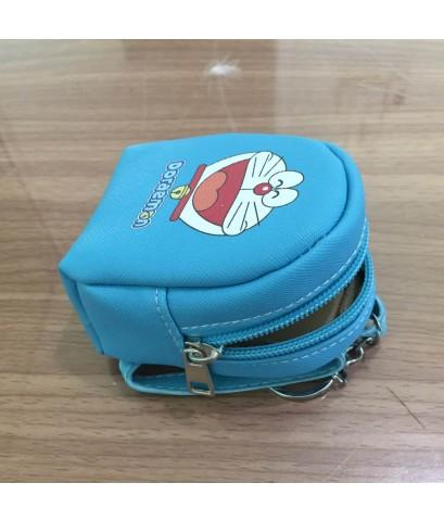 กระเป๋าใส่เหรียญ แบบเสมือนเป้ขนาดเล็ก รูปโดราเอม่อน