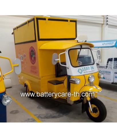 รถตุ๊กตุ๊กไฟฟ้าขายอาหารเครื่องดื่ม มาตรฐานกรมขนส่งทางบก