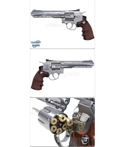 WinGun Revolver ลูกโม่ 6 นิ้ว Sport 702 Co2 Chrome