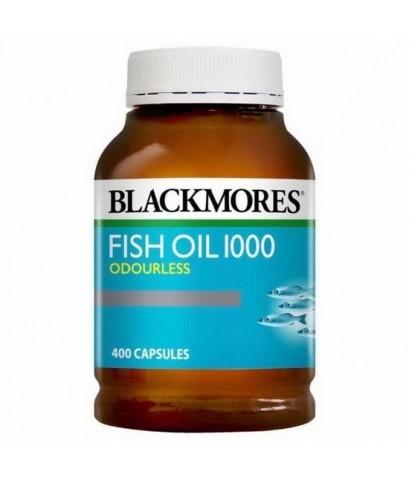 Blackmores Fish Oil 1000mg 400 เม็ดค่ะ วิตามินบำรุงสมองและสายตา เหมาะกับผู้มีปัญหาคลอเรสเตอรอลสูง