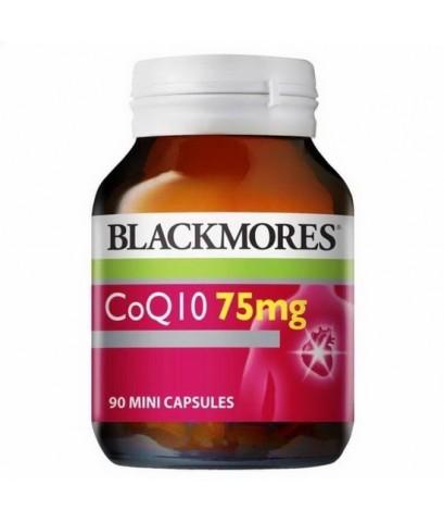 Blackmores CoQ10 75mg 90 เม็ดค่ะ วิตามินต่อต้านอนุมูลอิสระและให้พลังงานแก่เซลล์