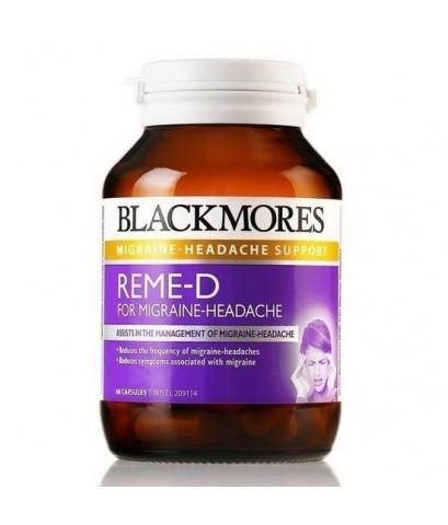Blackmores REME-D Migraine Headache 60 เม็ด วิตามินช่วยบรรเทาอาการปวดจากไมเกรน