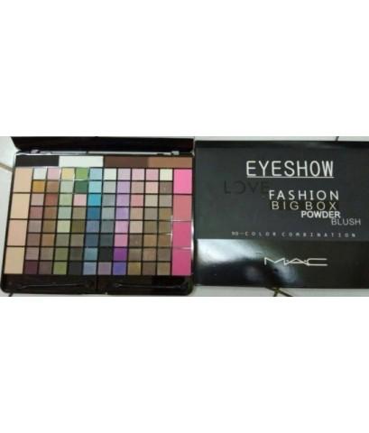 mac eyeshow love fashion big box powder blush 90-color combination พาเลทที่ช่างแต่งหน้าแนะนำ