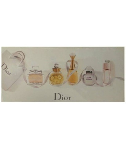 น้ำหอมเทสเตอร์เซต Dior - Les Parfums Set  ขนาด 5ml. x5 (หัวแต้ม)