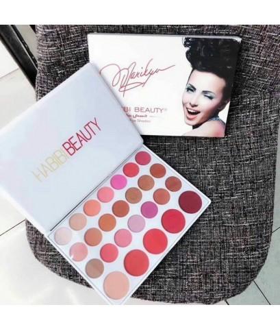 habibi beauty blush eyeshadow palette พาเลทสายหวานทาตาได้แก้มได้