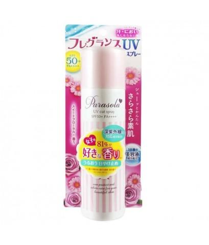 กันแดดสเปรย์ของแท้ parasola uv cut spray spf50+pa++++กันแดดที่มีค่า PA สูงสุดในญี่ปุ่น