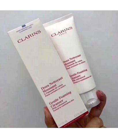 CLARINS  โฟมล้างหน้า Gentle Foaming Cleanser -Normal to Combination skin ขนาด 125 มล.