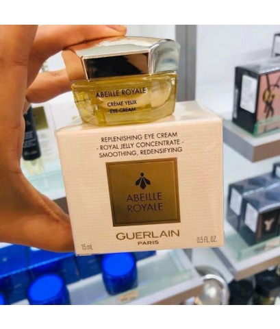 GUERLAIN Abeille Royale Replenishing Eye Cream ขนาด 15 ml. ครีมซ่อมแซมผิวรอบดวงตาอย่างอ่อนโยน