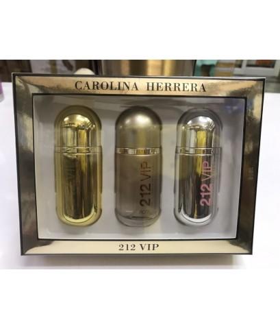 212 vip 3in1 perfume set for women 3x30ml.กลอ่งของขวัญ แพคสวยภาพจากสินค้าจริง