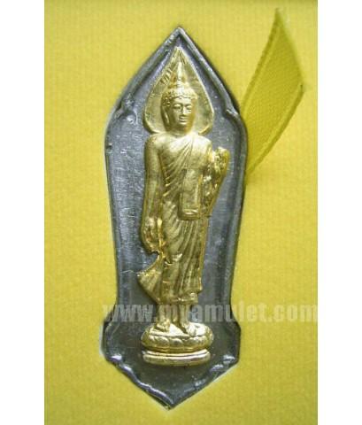 พระฉลอง 25 พุทธศตวรรษ เนื้อชิน หน้าทองคำ (New)