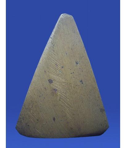 พระสมเด็จพิมพ์สามเหลี่ยม เนื้อโลหะ เจ้าคุณเที่ยง วัดระฆัง ปี 2500 (ขายแล้ว)