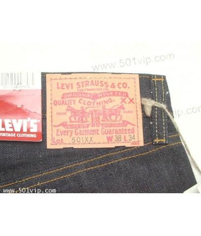 New ลีวาย ย้อนยุครุ่นปี 1955 501XX big E USA ปี 2006 W 38 L 34 จะหดเอว 38 ยาว 32