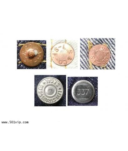 เหมือนใหม่ LEVI ย้อนยุครุ่นปี 1933 501XX USA ปี 2010 เอว 31 .5 ยาว 29