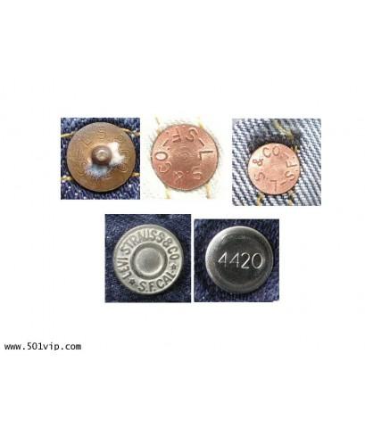 Used LEVI ย้อนยุครุ่นปี 1933 501XX USA ปี 2014 เอว 38 ยาว 28