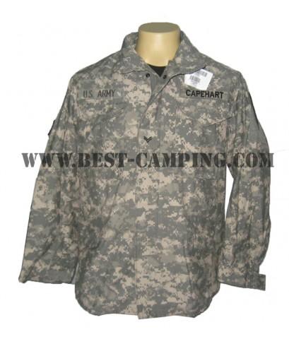 แจ็คเก็ตทหาร,แจ็คเก็ตกันหนาว,กันลม .แจ็คเก็ตฟิลด์ เอ็ม 65 . JACKET FIELDS M65 DG-ACU (มือ 1)
