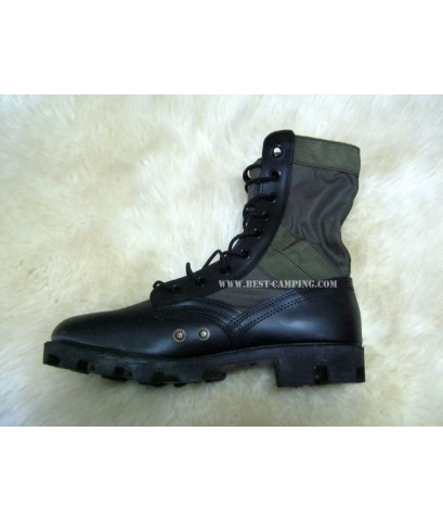 รองเท้าจังเกิ้ลสีเขียว,รองเท้าจังเกิ้ลโรเสริท์,รองเท้าทหาร,BOOTS, HOT WEATHER , GREEN