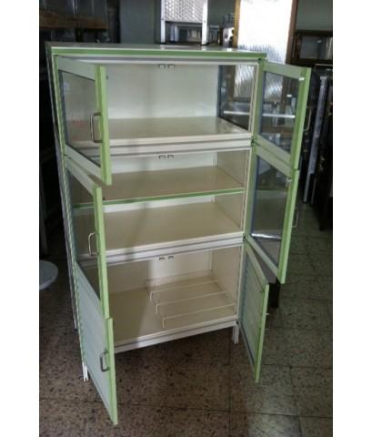 ตู้กับข้าว ตู้เก็บของในครัว อลูมิเนียมแท้ ขนาด 80 ซม.