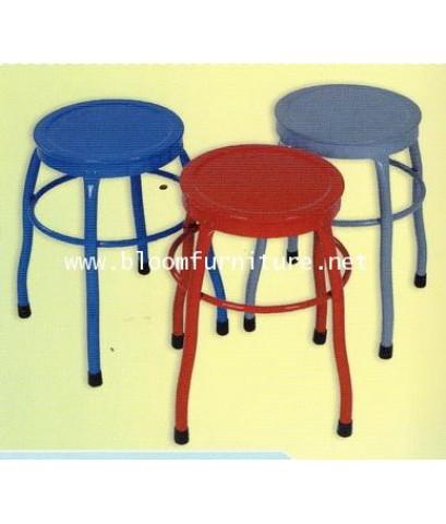 เก้าอี้เหล็กกลม มีให้เลือก 3 สี แข็งแรง